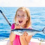 Рыбалка с детьми на Лазурном Берегу